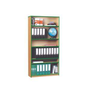 Coloured Edge Bookcase – High