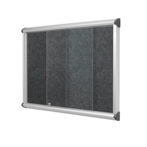 Resist-a-Flame Noticeboards – Sliding Door EcoColour®