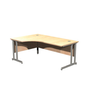 Cantilever Leg Desk Workstations – LH Crescent