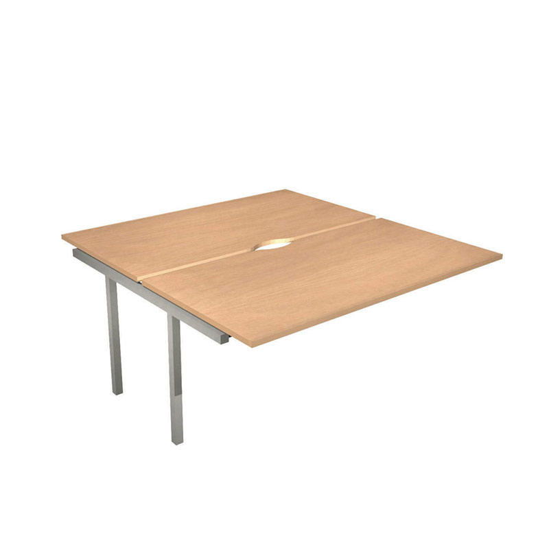 Nova Bench Desking System – Extension For Square Bench