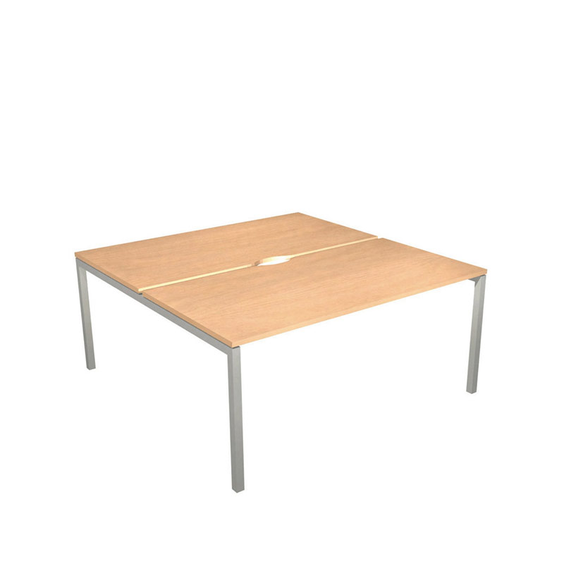 Nova Bench Desking System – 2 Desk Square