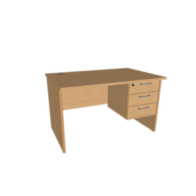 Alpine Panel Leg Teachers Desk