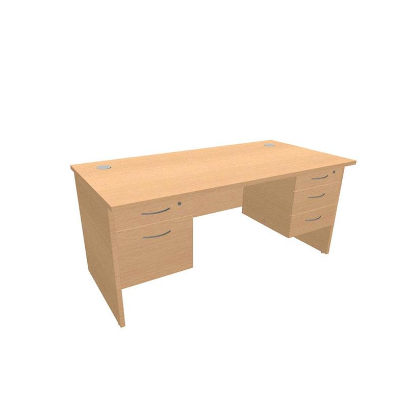 Alpine Panel Leg Teachers Desk