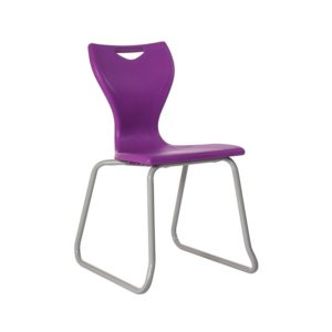 Flow Classroom Chairs – Skid Base