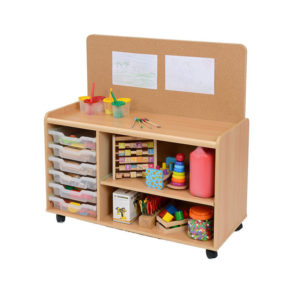 Tray & Shelf Unit