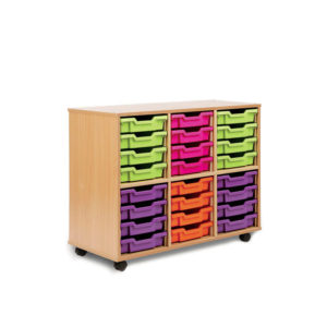 Tidistor Storage Range – 24 Shallow Tray Unit