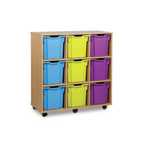 Jumbo Storage Units – 9 Jumbo Tray Unit