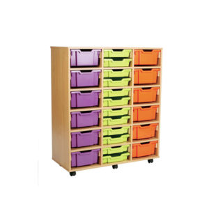 Combination Storage Unit – 36 Shallow / 18 Deep Tray Unit