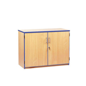 Coloured Edge Cupboard – Low