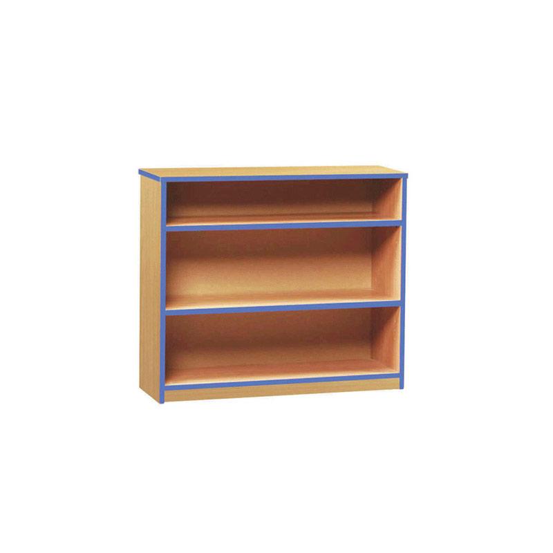 Coloured Edge Bookcase – Low