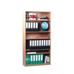 Coloured Edge Bookcase – High
