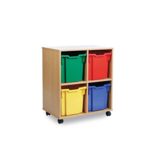 Tidistor Storage Range – 4 Jumbo Tray Unit
