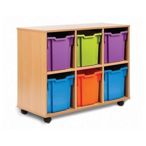Tidistor Storage Range – 6 Jumbo Tray Unit