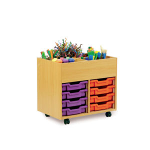 Art Room Storage – 4 Bay Kinderbox Unit
