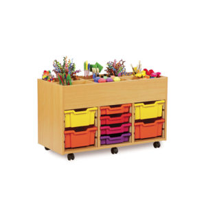Art Room Storage – 6 Bay Kinderbox Unit