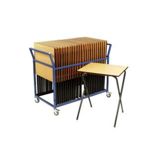 Exam Desk And Trolley Offer 25 Desks