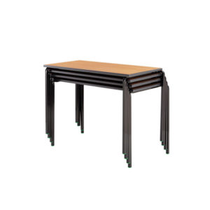 PU Edged Tables, Crushbent Frame – Rectangular