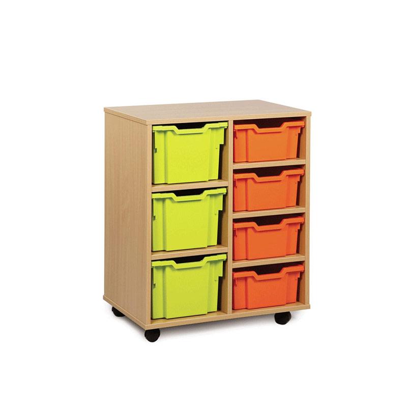 Variety Storage Units – 7 Tray Narrow Variety Unit