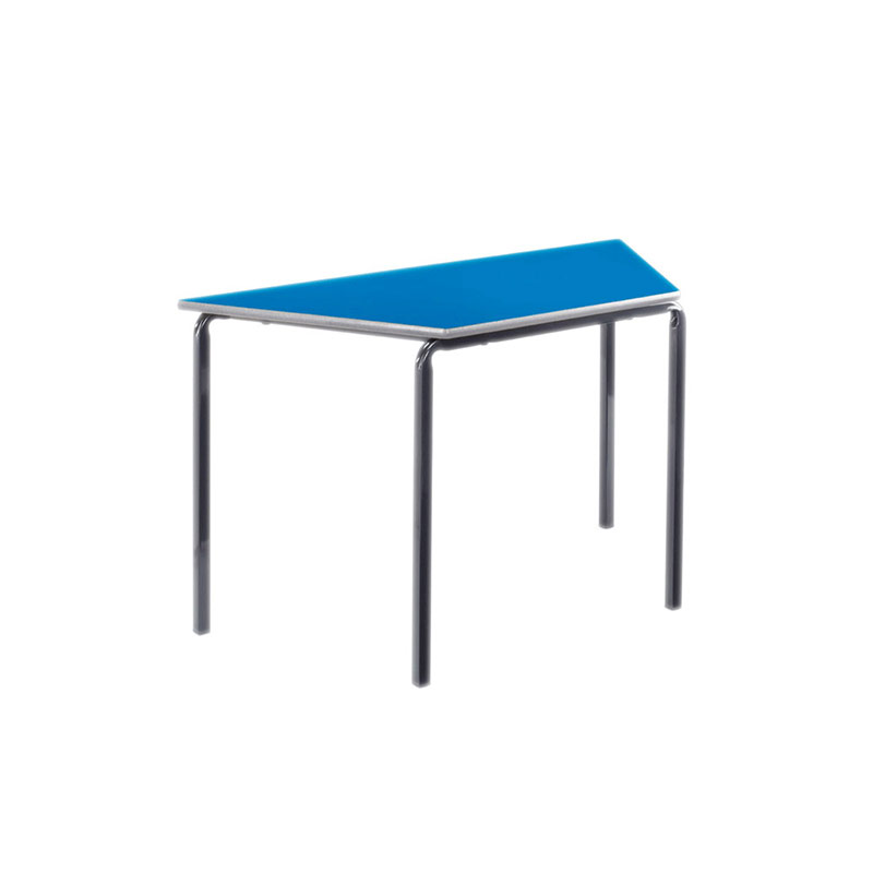 PU Edged Tables, Crushbent Frame – Trapezoidal