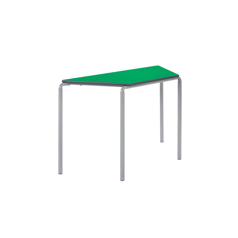 Classroom Tables, Crushbent Frame – Trapezoidal
