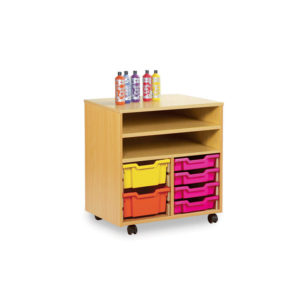 Art Room Storage – Tall Combination Shelf Unit