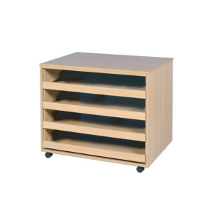 Art Room Storage – Mobile Paper Storage