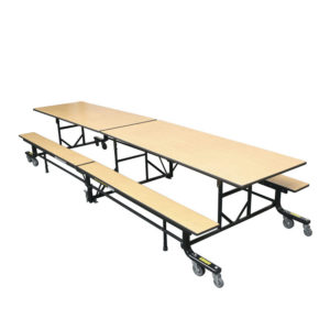 Benchmark Folding Table With Benches