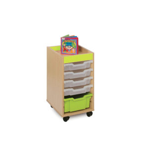 The Candy Colours Range – 6 Shallow Tray Unit