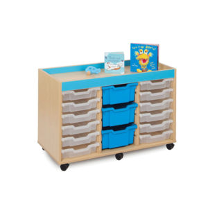 The Candy Colours Range – 18 Shallow Tray Unit