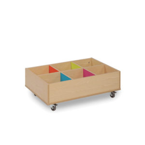 The Candy Colours Range – 6 Bay Kinderbox