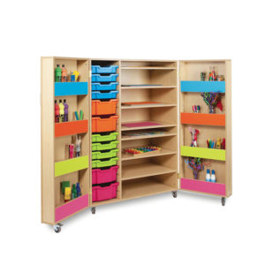 The Candy Colours Range – Mobile Storage Cupboard