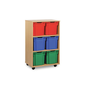 Jumbo Storage Units – 6 Jumbo Tall Tray Unit