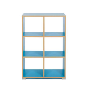 Candy Colours Room Dividers – 6 Cube (3×2)