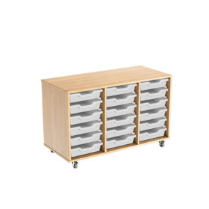 Colorstore Premium Tray Storage – 18 Tray Triple Unit