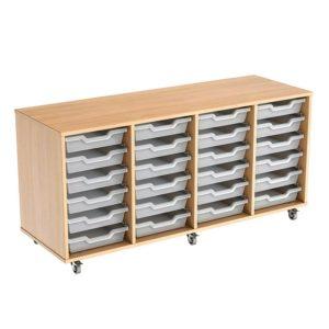 Colorstore Premium Tray Storage – 24 Tray, 4 Column Unit