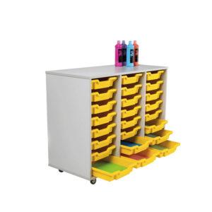 Colorstore Premium Tray Storage – 24 Tray, 3 Column Unit