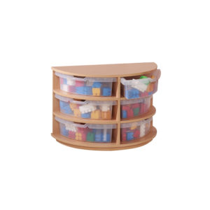 Quadrant Tub Storage – Semi-Circle Unit