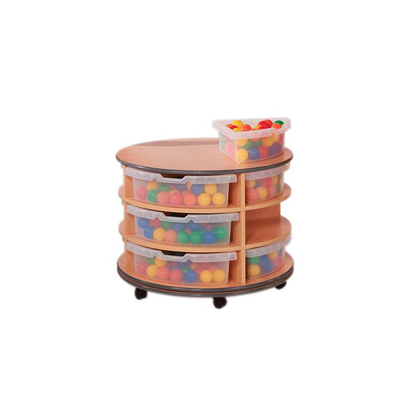 Quadrant Tub Storage – Mobile Revolving Unit