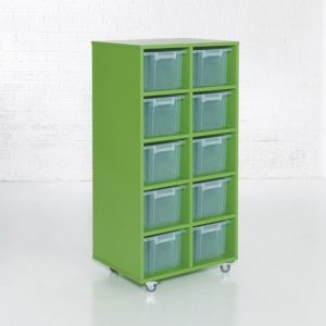 Colorstore – 2 Column, Tall Tub Storage Unit