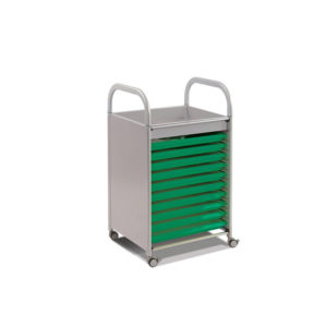 CalStor Art Storage – Shallow tray art trolley