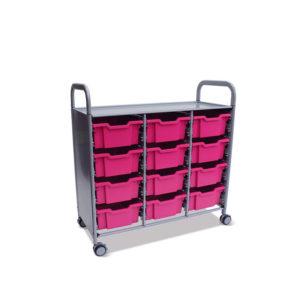CalStor Flexible Storage – 12 deep tray unit