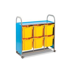 CalStor Flexible Storage – 6 jumbo tray unit