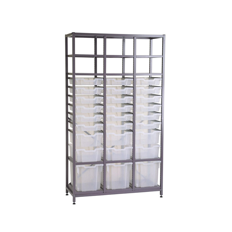 TecniStor Metal Storage – 3 jumbo, 3 deep & 18 shallow trays