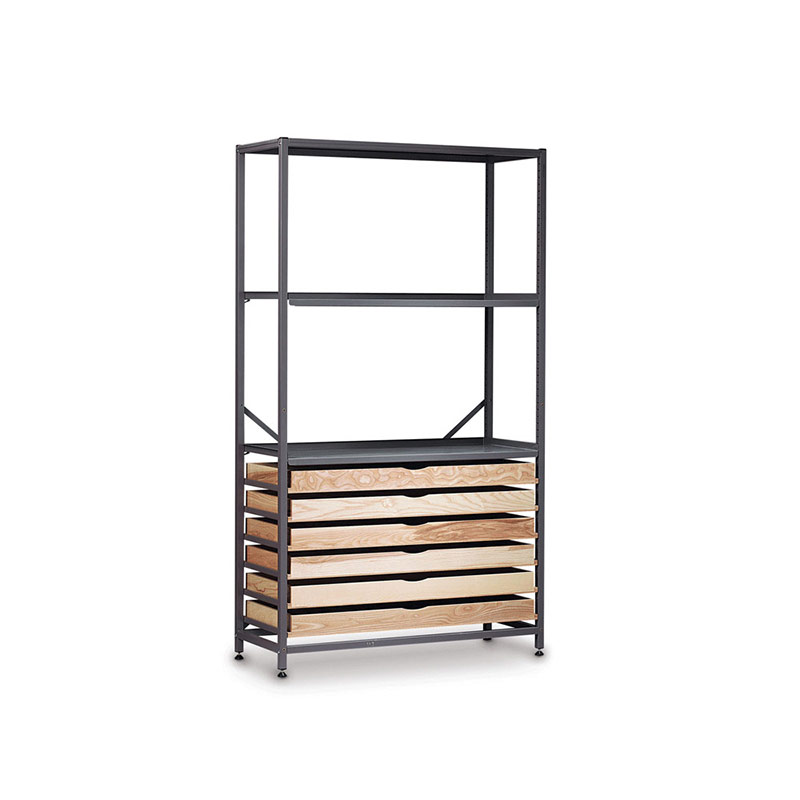 TecniStor Metal Storage – Shelf/drawer unit