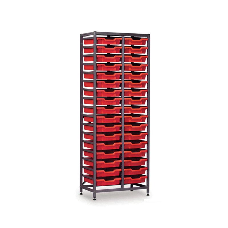 TecniStor Metal Storage – 34 shallow trays