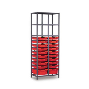 TecniStor Metal Storage – 2 deep & 18 shallow tray