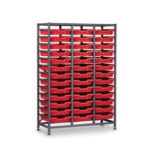TecniStor Metal Storage – 39 shallow trays