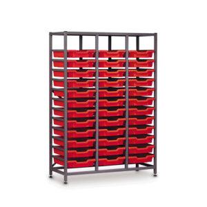 TecniStor Metal Storage – 36 shallow tray
