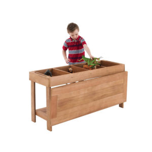 Outdoor Sorting Table & Boxes
