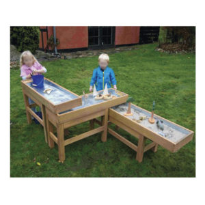 Outdoor Water & Sand Table With Pump